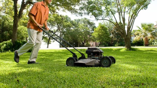 lawn mowing pics